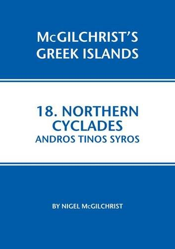 Northern Cyclades: Andros Tinos Syros (Mcgilchrist's Greek Islands)