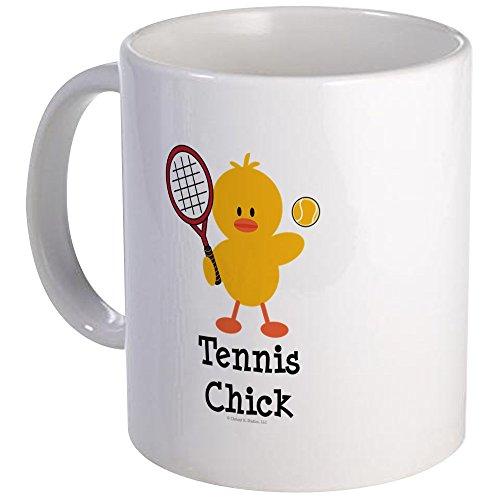 CafePress - Tennis Chick Mug - Unique Coffee Mug, Coffee Cup Tennis Chick