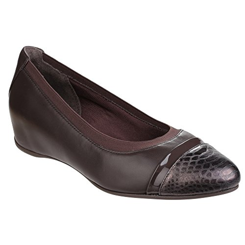 Dark Wedge Motion Granite Slip Total Esha Ladies Pump Evan Rockport Womens On twAxvqxP