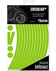 VFLUO CIRCULAR™, kit retroreflecterende velgstroken voor motorfietsen (1 wiel), 3M Technology™