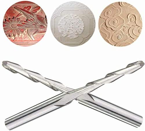 KEKEYANG tools Ball Nose End Mills Tool Double Edge Milling Cutter Engraving Bits Drill Bits Drill Bit