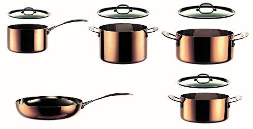 Mepra 30120009 9 Piece Toscana Kitchen Set, Copper