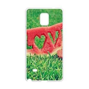 Watermelon Samsung Galaxy Note 4 Cell Phone Case White mmrx