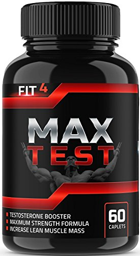 TEST de MAX | booster de Testostérone | Testostérone pour les hommes d'Appoint pour compléter | Test d'appoint | De l'énergie et la libido | Horny Goat Weed | Tongkat Ali | Bore
