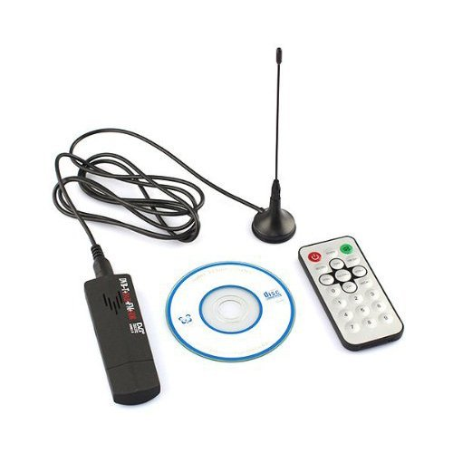 TV Tuner - TOOGOO(R) USB2.0 Digital DVB-T TV Tuner Recorder Receiver Stick RTL-SDR + DAB + FM R820T
