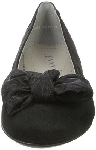 Jenny Women's Pisa Ballet Flats Black (Black) lU86RZnO
