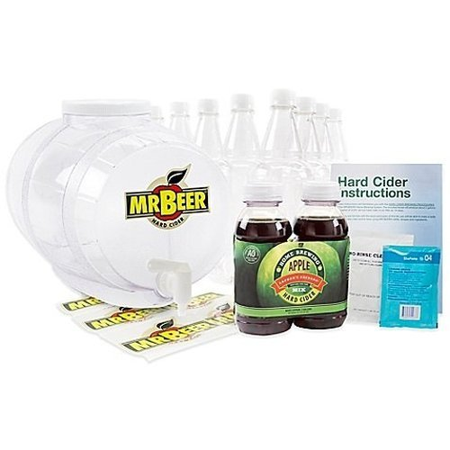Mr. Beer 2 Gallon Hard Cider Homebrewing Craft Cider Kit