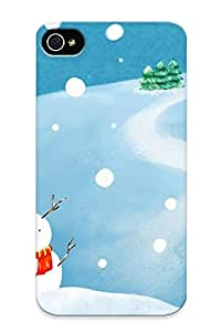 New Arrival Iphone 4/4s Case Holidays Christmas Seasonal Festive Case Cover