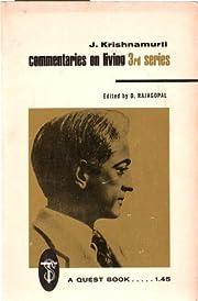 J. Krishnamurti Commentaries on Living 3rd…