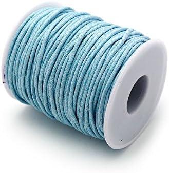 RUBY Azul Marino Hilo Encerado 1.5mm 45 Metros