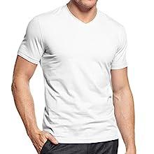 Men's Tagless V-Neck T-Shirt