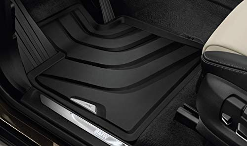 BMW 51472458439 All-Weather Floor Mats F15 X5 and F16 X6 (Set of 2 Front Mats)