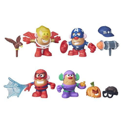 Marvel Mr. Potato Head Mashups Wave 1 Two Sets (Goblin Outfit)