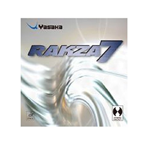 Yasaka Razka 7 Black Table Tennis Rubber Is Both a Strength and Maximum Spin. by YASAKA