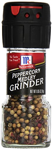 (McCormick Peppercorn Medley Grinder, 0.85 oz (Pack of 6))