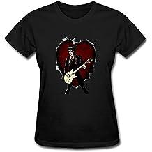 XLHL6OJ Womens 2016 World Tour Concert Joan Jett T Shirts 100% Cotton