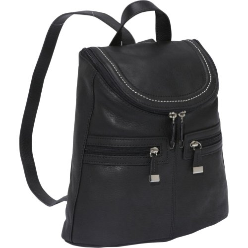 Piazza Torino Backpack (Black), Bags Central