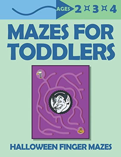 Mazes For Toddlers: Halloween Finger Mazes | Ages 2,3,4]()