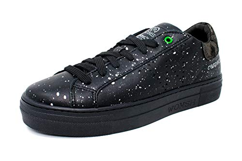 Nero argento Womsh Sneaker Drops Black 2017 Snik vwv8BqC1