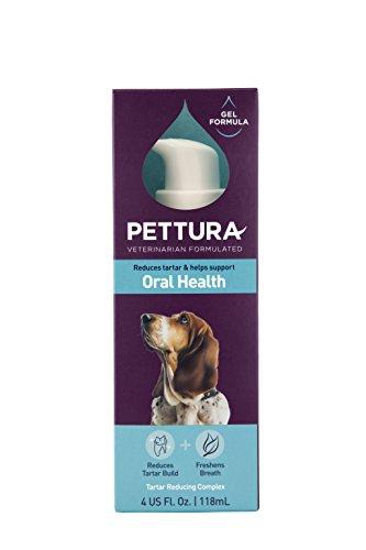 Gel Healthy (Pettura - Oral Health, Oral Gel Supplement, Reduces Tartar & Helps Support Oral Health, 4 Ounces)