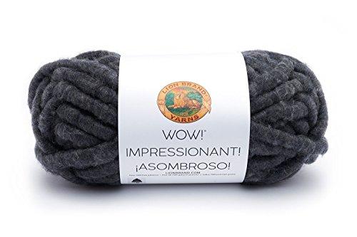 153 Yarn (Lion Brand Yarn 932-153 Wow Yarn, Up in Smoke)