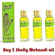 OOFAYZBL 3 Shelly Mehandi Henna Oil Mehndi for Darkening Henna Body Paint Art Kit Tattoo