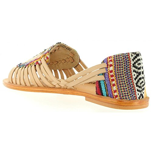 Sandalias de Mujer MTNG 94455 C25365 VAQUETA NUDE