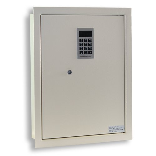 - Protex PWS-1814E Electronic Keypad Wall Safe, 5.25