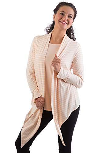 Sophie Short Wrap - BSWR440 One Size Shell Stripe BambooDreams Sophie Short Wrap