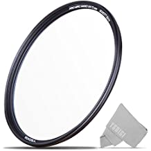 72mm UV Filter, YSDIGI UV Protection Lens Filter with Lens Cloth, Multi-Coated Ultraviolet UV, High Definition SCHOTT B270 Glass, Nano Coatings, Ultra-Slim, HD UV Filter for Outdoor Photography.