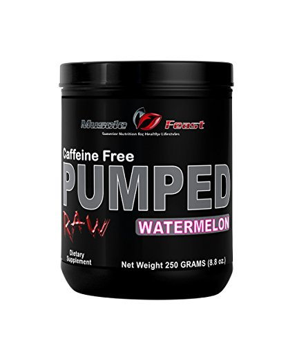 Pumped Raw (Caffeine Free Watermelon, 250 grams)