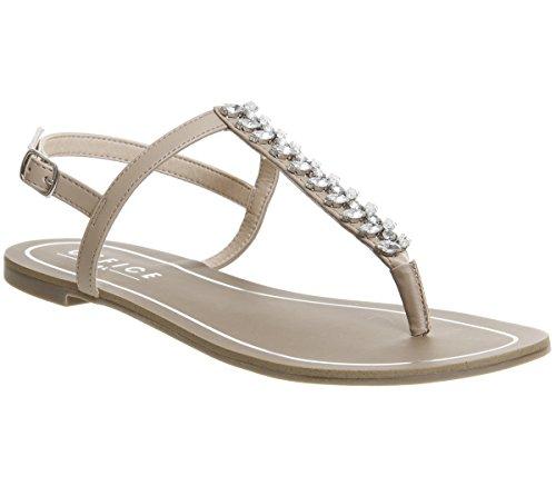 Office Sprinkles Toe Post Sandals Nude nUTjy