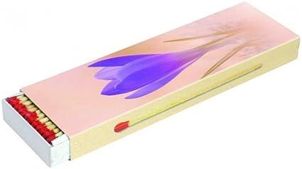 5 cajas a 45 cerillas para barbacoas, chimenea y velas Maxi 20 cm (caja de cerillas 225), diseño de primavera/verano KM Match: Amazon.es: Hogar