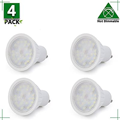 MR16 GU10 LED Light Bulb, Non Dimmable, 7W (65W Equivalent), 2700K Warm White, 120° Beam Angle, 700Lm, 120 Volt Track Lighting, Recessed Light, 2 YEARS WARRANTY, Pack of 1