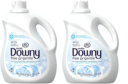 (Downy Liquid Fabric Conditioner - Free & Gentle - 103 oz - 2 pk)