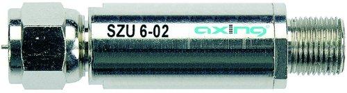 connecteurs F Axing SZU 6-02 Parasurtenseur Parafoudre pour le c/âble lantenne et les syst/èmes de satellites