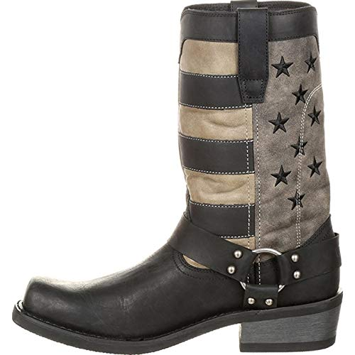 Charcoal Durango Boot Black Grey Flag Faded Black Harness UPORq