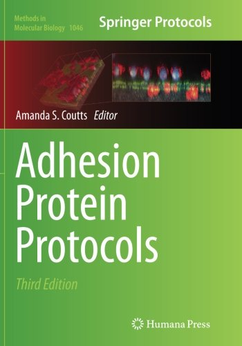Adhesion Protein Protocols (Methods in Molecular Biology)