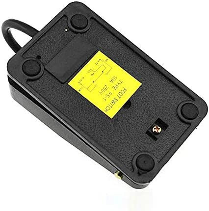 Momentary Contact Heavy Duty Plastic Foot Pedal Switch Various Use AC 250V 10A