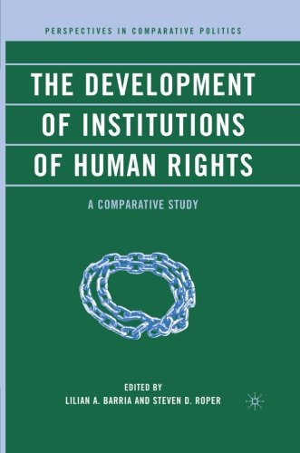 The Development of Institutions of Human Rights: A Comparative Study (Perspectives in Comparative Politics)