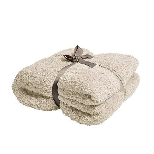 Battilo Oversize Sherpa Blanket Microfiber