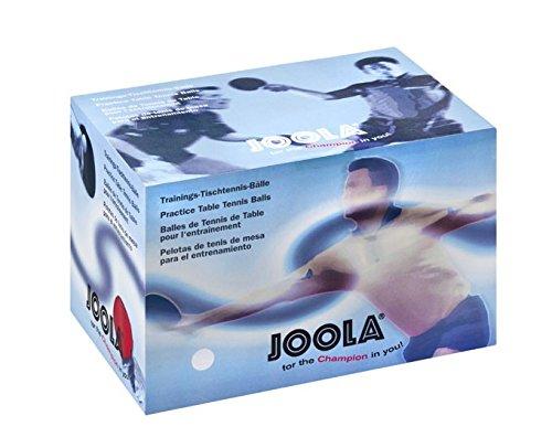 JOOLA Tischtennisbälle Training 40 120er Karton, Weiß Weiß JOOA5|#JOOLA 44230