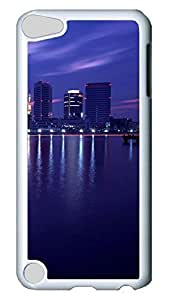 Brian114 Case, iPod Touch 5 Case, iPod Touch 5th Case Cover, City New York 18 Retro Protective Hard PC Back Case for iPod Touch 5 ( white )
