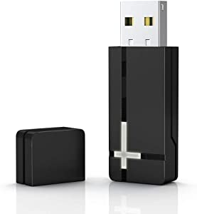 Wireless Adapter for Xbox One, WEGWANG Adapter Suitable for PC Windows 10, 8.1, 8, 7, fit for Xbox One Controller, Elite Series 2, Xbox One X, Xbox One S and Xbox One Series X