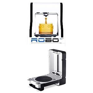 ROBO 3D R1 Plus 10x9x8-Inch ABS/PLA 3D Printer