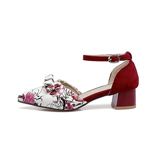 Red Rouge 5 Sandales Balamasa 36 Femme Compensées 6qwznxRgP