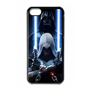 iPhone 5C phone cases Black Star Wars Phone cover NAS3836702