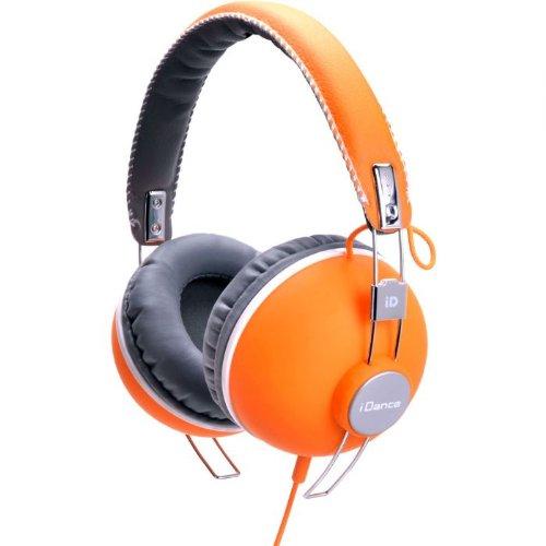 iDance HIPSTER 704 Headband Headphones - Orange & Black ()