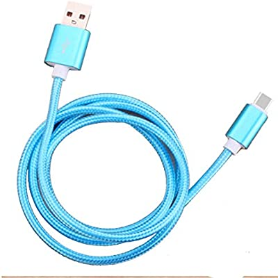 Cable USB Tipo C Cable de Carga Rápida Smartphone Android Sincronización de datos Cable de Nylon para Android: Amazon.es: Bricolaje y herramientas