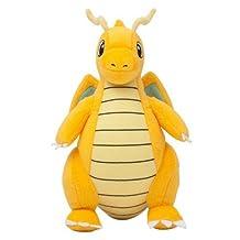 Pokemon Dragonite Plush Stuffed Animals Doll Kids Toys 22 cm